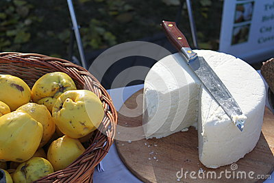 Quince and cheese