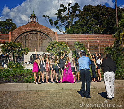 Quinceanera, San Diego California Editorial Stock Photo
