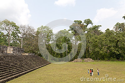 Quirigua national park in Guatemala Editorial Stock Image