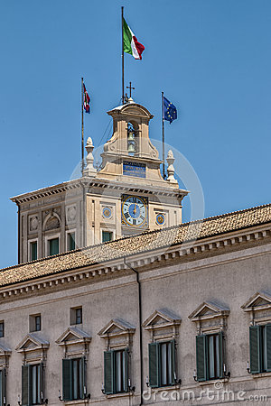 Free Quirinale Palace Royalty Free Stock Photography - 42115397