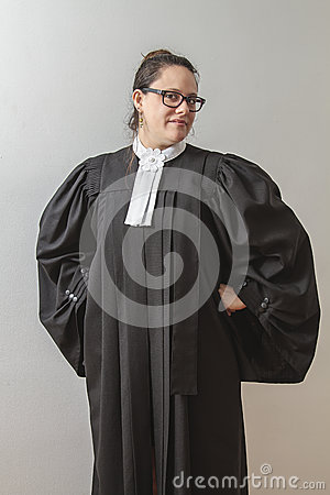 Quirky lawyer