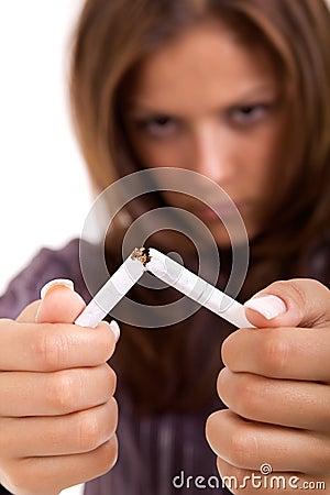 Free Quit Smoking Royalty Free Stock Images - 20464259