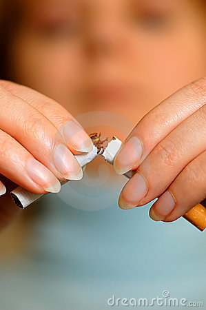 Free Quit Smoking! Stock Photography - 2430862