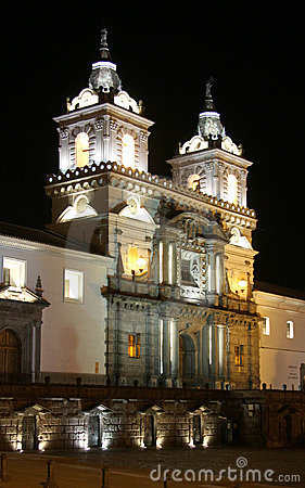 Free Quito At Night Stock Photography - 16440452