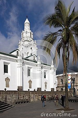 Quito - El Sagrario - Ecuador Editorial Image