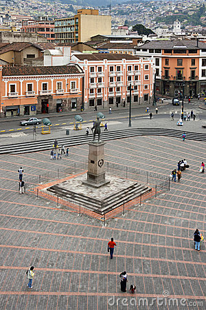 Quito - Plaza San Francisco - Ecuador