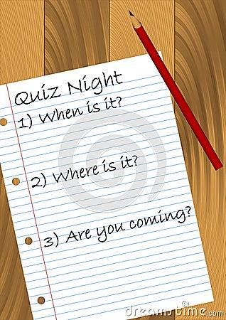 funny quiz. funny quiz night picture