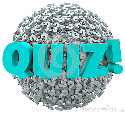 Free Quiz Question Marks Evaluate Test Knowledge Stock Photos - 35557093