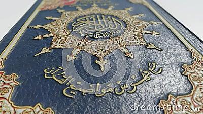 Quran close up stock video