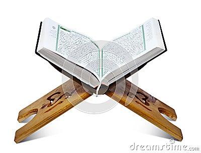 Quran-Standplatz