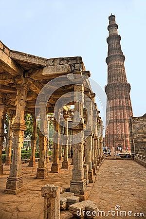Qutb Minar, new Delhi, India.