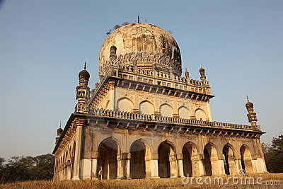 Qutb Shahi Tombs, Hyderabad Editorial Stock Photo