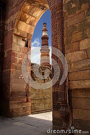 Free Qutub Minar Stock Images - 1519694