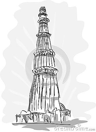 Qutub Minara Tower Delhi India Royalty Free Stock Images ...