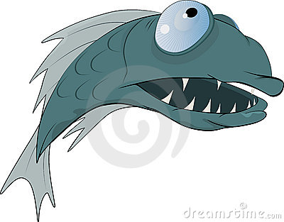Räuberische Fische