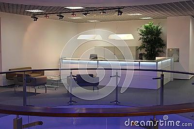 Réception moderne de bureau