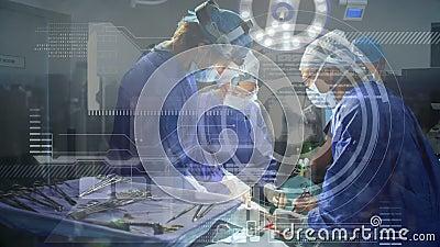 Réseau mondial de médecine et de science banque de vidéos