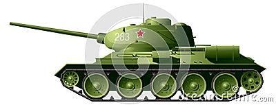 Réservoir T-34
