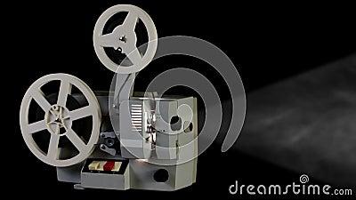 Rétro projecteur de cinéma
