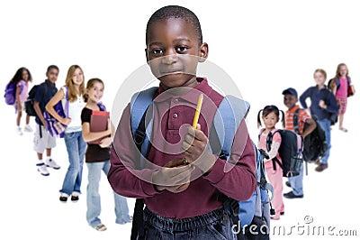Różnorodności dzieciaków szkoła