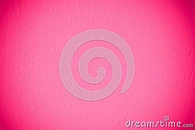 Różowa ściana
