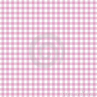 Różowy gingham