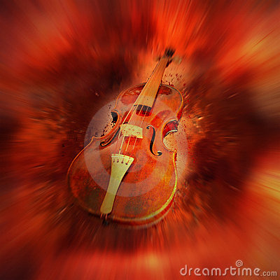 Röd fiol