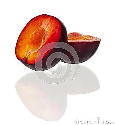 Röd plommon