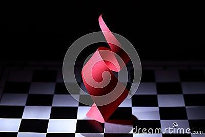 Röd spiral