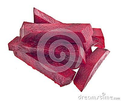 Rödbetaskivor