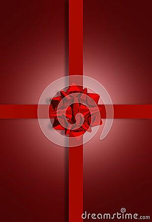Rödbrun aktuell Bow