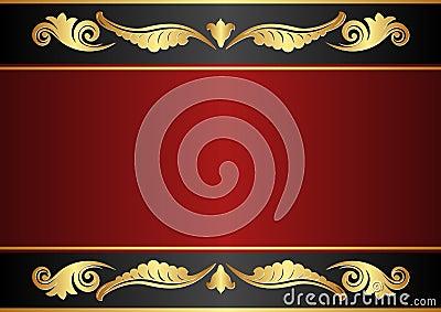 Rödbrun och svart bakgrund