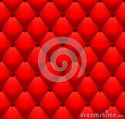 Rött läder