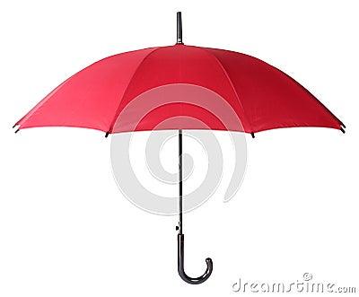 Rött paraply