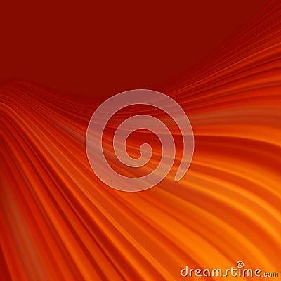Rött släta ljusa linjer bakgrund för vridningen. EPS 8