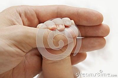 Ręka jest dziecko