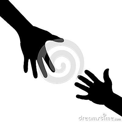 Ręki pomaganie