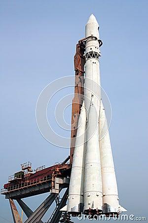 R-7 space rocket