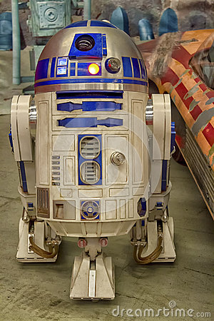 R2D2 Editorial Stock Photo