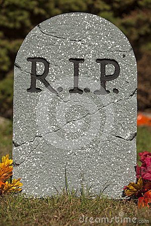 R I P Grave Stone Royalty Free Stock Photos Image 34707618