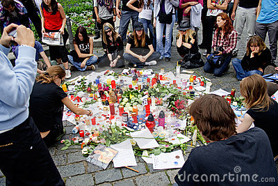 R.I.P. Michael Jackson - Prague Editorial Photography