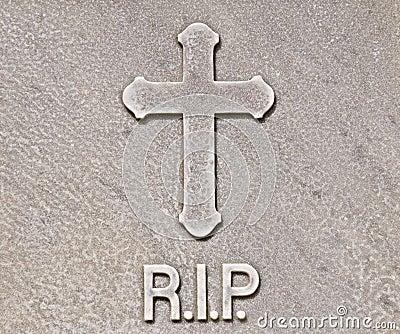 R.I.P. tombstone