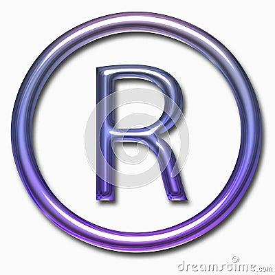R symbol