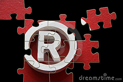R trademark - puzzle incomplete
