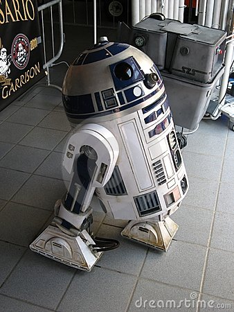 R2-D2 Editorial Stock Photo