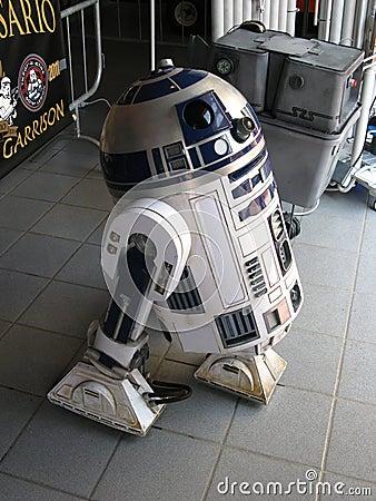 R2-D2 Editorial Stock Photo