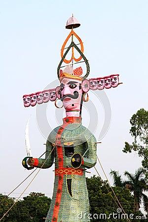 Raavan statue
