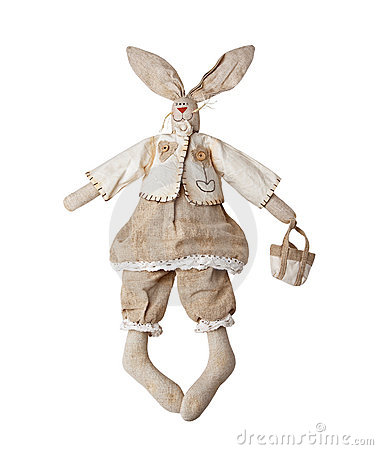 rabbit ,fabric toys