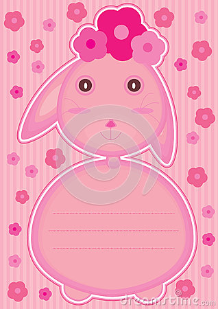 Rabbit Feminine Card_eps
