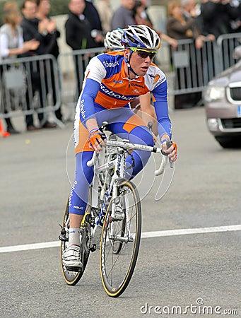 Rabobank cyclist Dutch Steven Kruijswijk Editorial Image